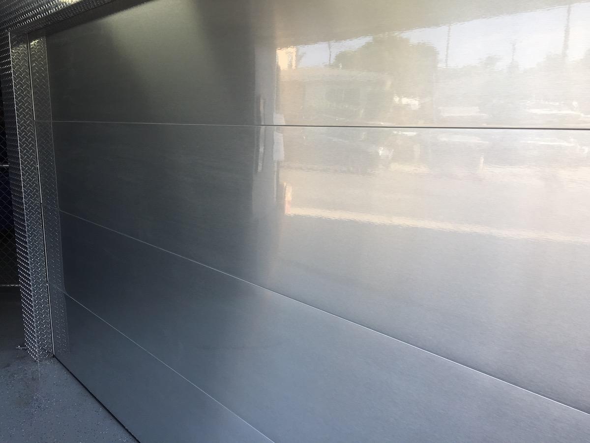 Anti Graffiti Film Steel Garage Doors Los Angeles